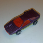 CORGI JUNIORS Bertone Carabo Whizzwheels Purple Lime 1970's die-cast
